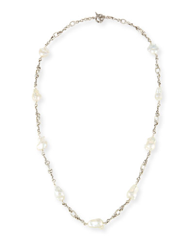 Baroque Pearl Necklace, 37