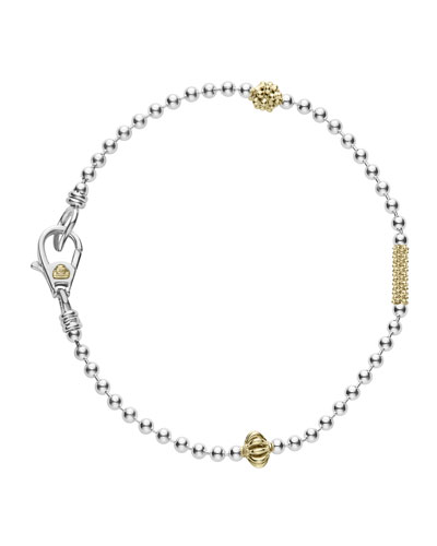 Caviar Icon 1-Row Ball-Chain Bracelet