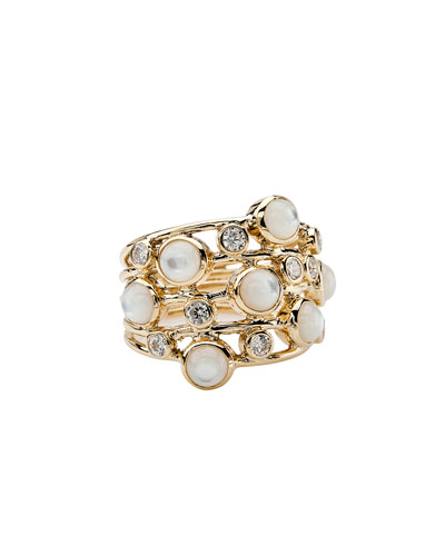 Diamond & Mother-of-Pearl Ring