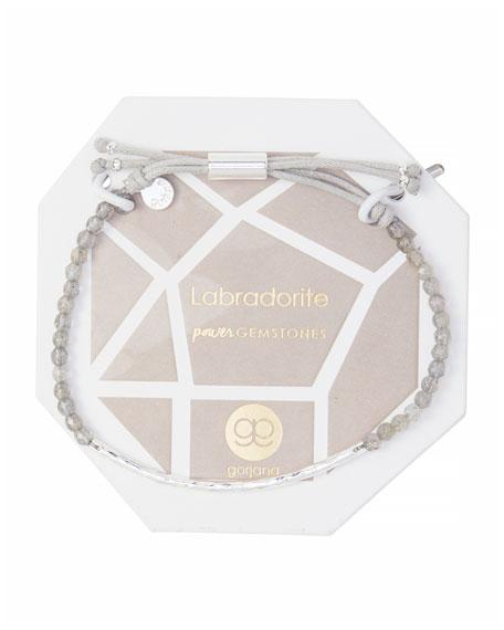 Gorjana Power Gemstone Labradorite Bracelet for Balance, Silver