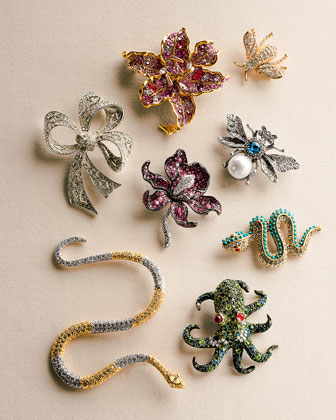 Charms & Brooches