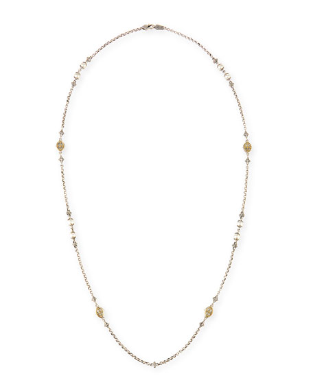 Konstantino Hestia Mother-of-Pearl Station Necklace fhGubeaN