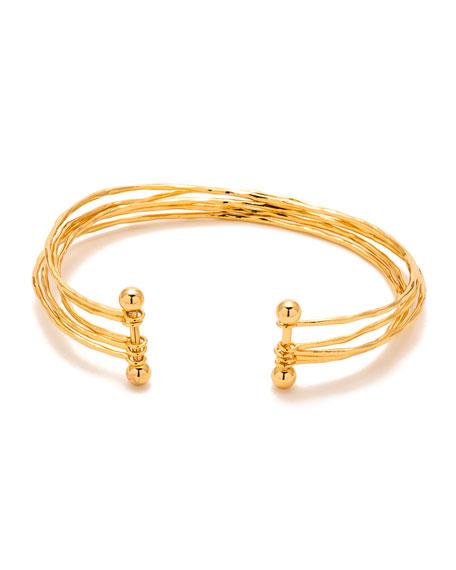Gorjana Taner Five-Row Cuff Bracelet 0m1ITHt6