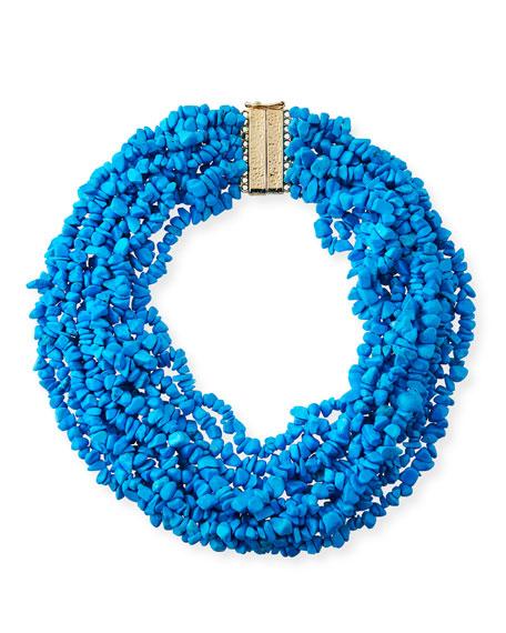Rosantica Fato Multi-Strand Beaded Necklace XU3mY