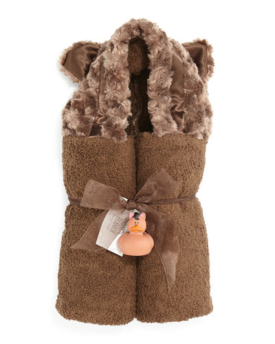 Hooded Bear Towel