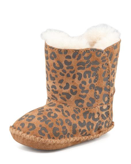 12b14af011b Cassie Leopard-Print Bootie Chestnut