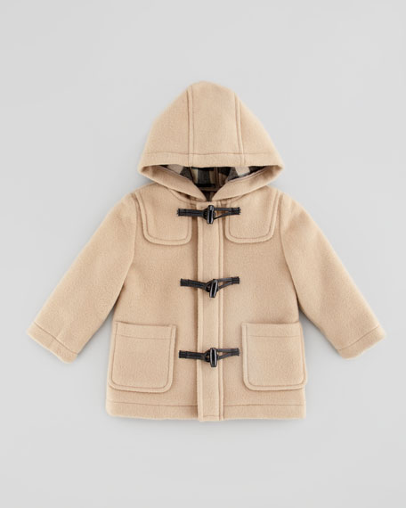 enjoy best price buy cheap latest style Infant Boys' Wool Toggle Coat Camel 18M-2Y