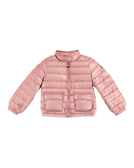 3ca66d1a0 Lans Quilted Tech Jacket Light Pink Sizes 2-6