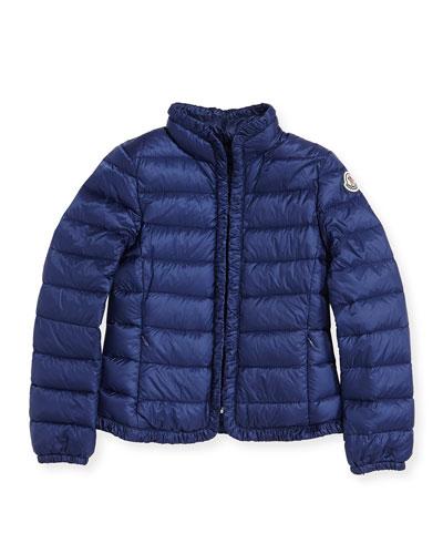 Mayotte Long Season Packable Jacket, Royal, Sizes 8-10