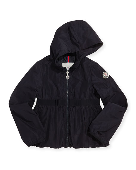 moncler black raincoat