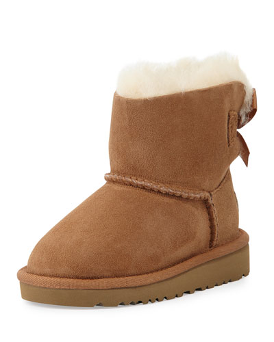 Mini Bailey Bow-Back Boot, Chestnut, Toddler