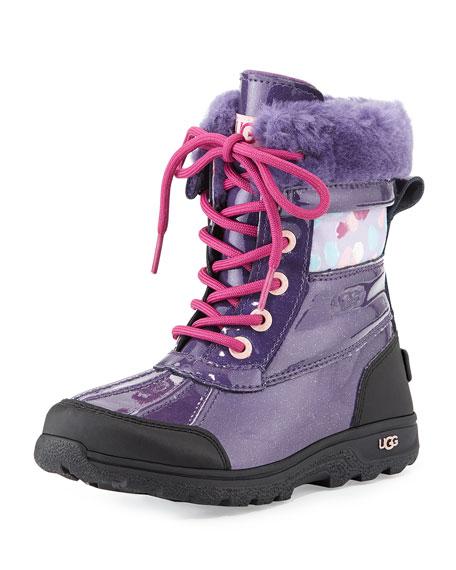kids purple uggs