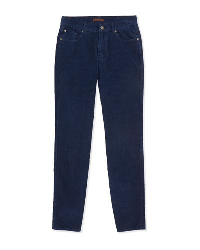 Standard Corduroy Jeans, Navy, Sizes 8-16