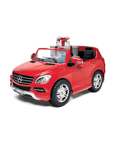 Mercedes SLS Two Seater Electric Ride-On Car, Red