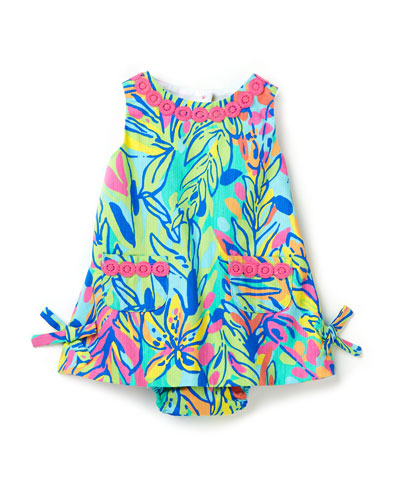 Baby Lilly Pulitzer Shift Dress, Multi Hot Spot