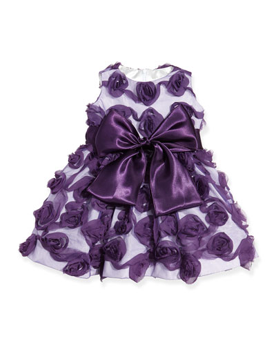 Rosette Holiday Dress, 6-24 Months