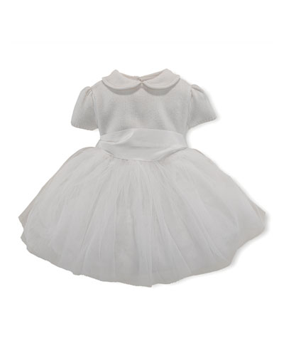Sweet Tulle Dress, Party Cream, 3-24 Months