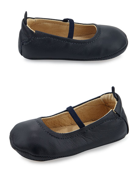 76a2c76244fc Old Soles Soft Leather Ballet Flats