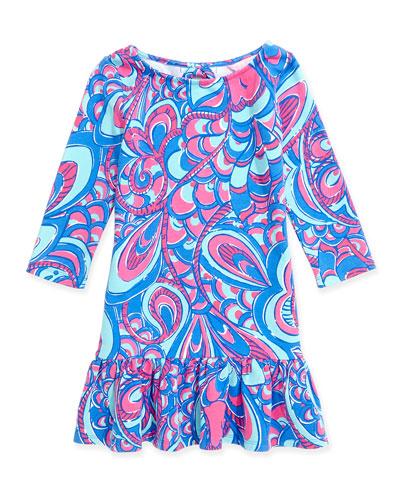 Morgana Knit Dress, Brewster Blue Reel Me In, XS-XL
