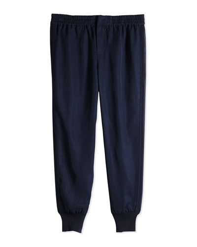 Tencel® Jog Pant, Navy, Sizes 4-6X