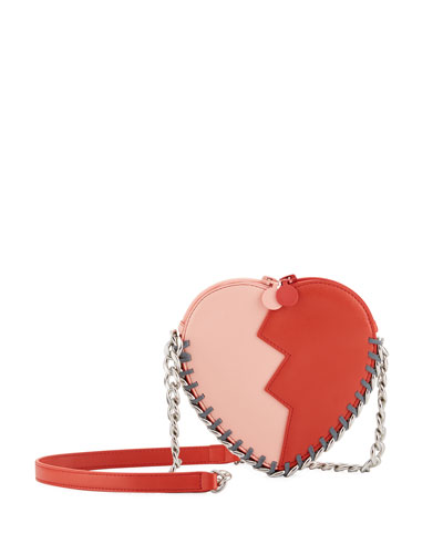 Girls' Jazz Heart Bag with Chain