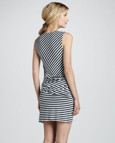 Devil Ray Stripe Dress