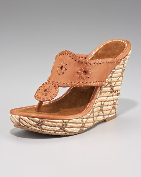 Marbella Wedge Sandal