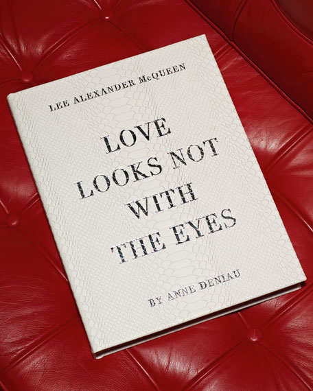 """Alexander McQueen Love Looks Not With the Eyes"" Book"