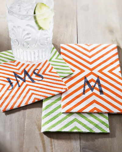 Chevron Napkins & Buffet Napkins/Guest Towels