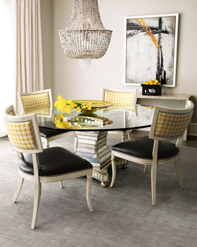 Calvin Chair & Erlinda Dining Table