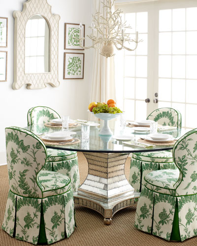 Garden Dining Chair & Erlinda Dining Table