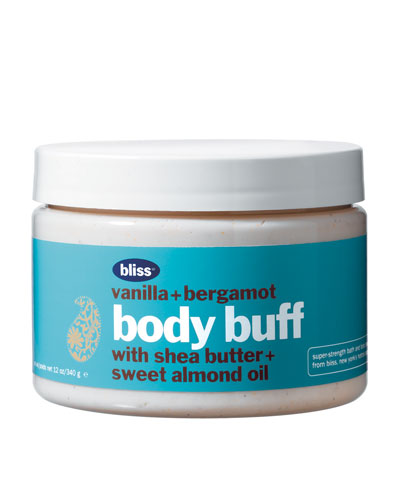 vanilla & bergamot body buff
