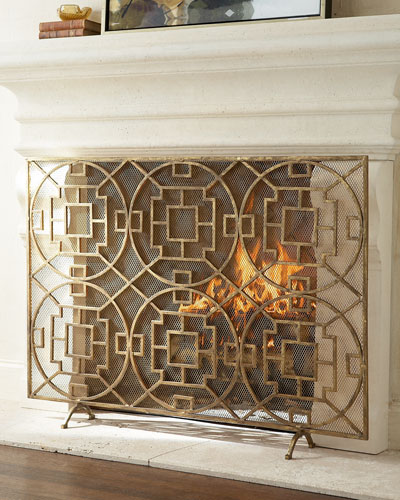 """Pyra"" Fireplace Screen"