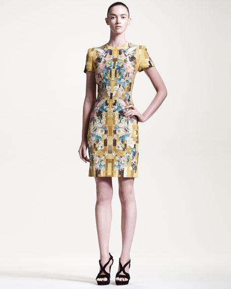 Alexander McQueen signature print dress Good Selling Q7KP4BbF