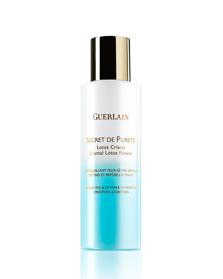 Guerlain Secret De Pureté Eye Lip Makeup Remover
