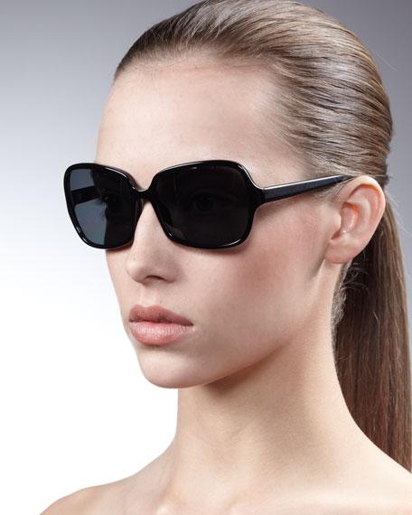 Oliver Peoples Butterfly frame sunglasses uOLEde