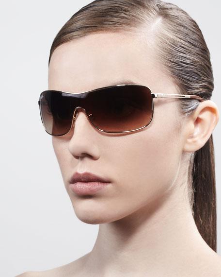 d5e2c8bbb2 Ray-Ban High Street Mirrored Shield Sunglasses