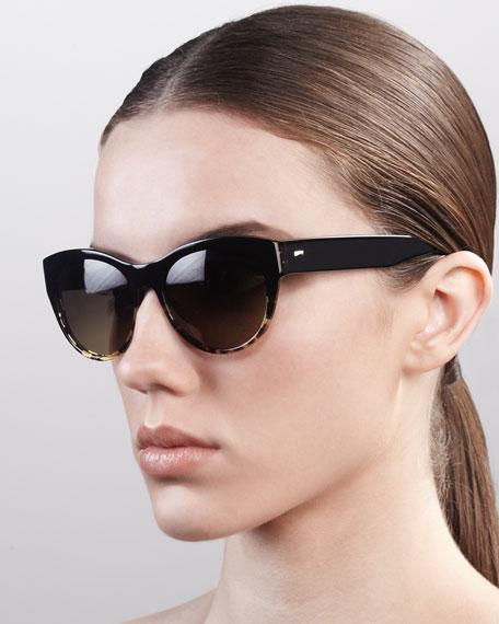 Mande Cat-Eye Sunglasses