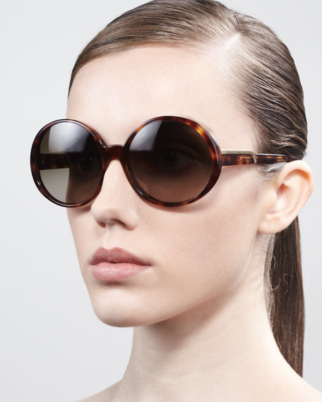 307ee31d41529 Stella McCartney Round Sunglasses