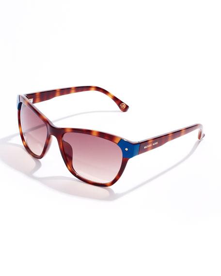 b991cfe8f2 MICHAEL Michael Kors Savannah Cat-Eye Sunglasses