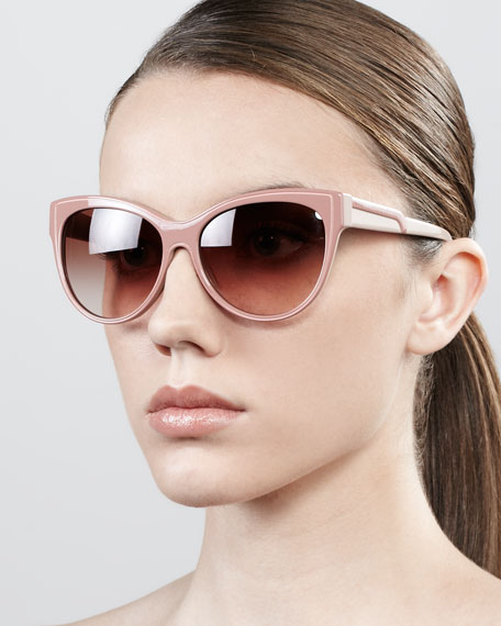Stella McCartney Eyewear Cat-eye sunglasses whTe6o