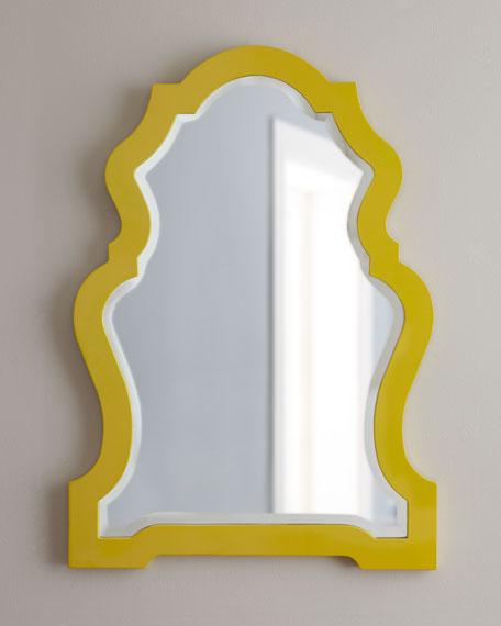 Yellow-Framed Mirror
