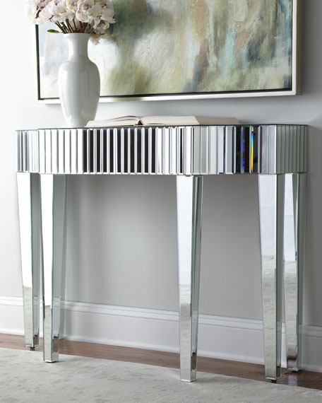 """Toshie"" Mirrored Console"