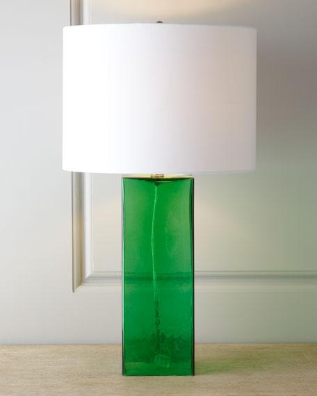 Glass base table lamp aloadofball Gallery