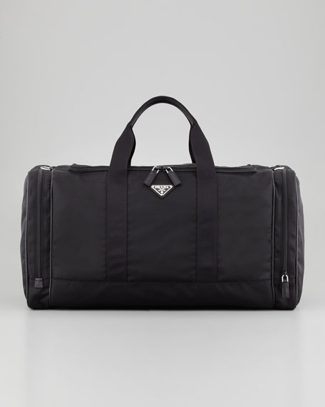 4033b9000179 Prada Nylon Large Weekender Bag