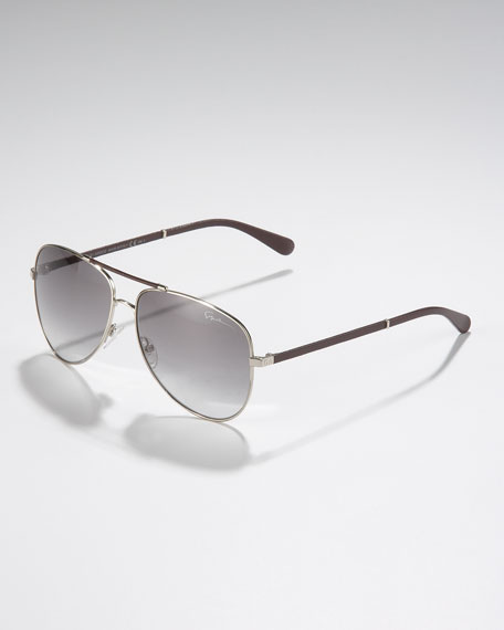 7910113fe9ff3 Giorgio Armani Classic Aviator Sunglasses