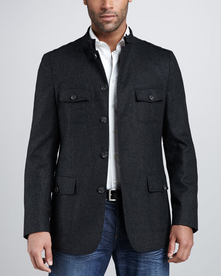 6144a87bc Hugo Boss Flannel Field Jacket