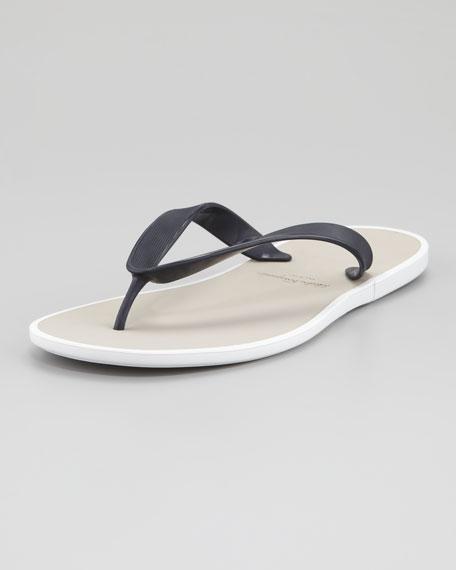 2569678bc Salvatore Ferragamo Gym Rubber Thong Sandal