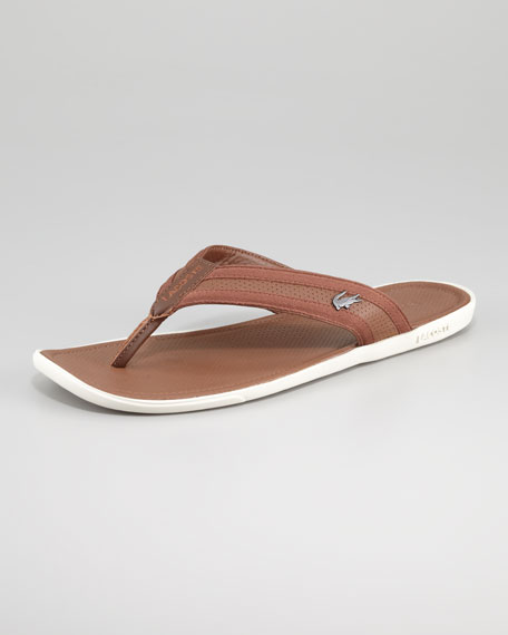 Thong Leather Carros Thong Carros Leather Thong Carros Tan Sandal Leather Tan Sandal O0w8nPk
