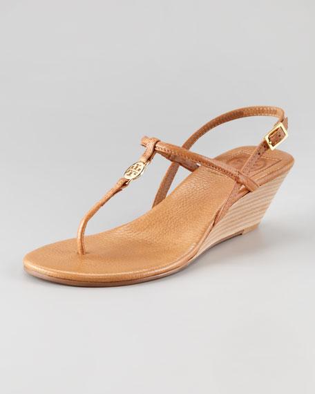 05e9a4d4f Tory Burch Emmy Demi-Wedge Thong Sandal